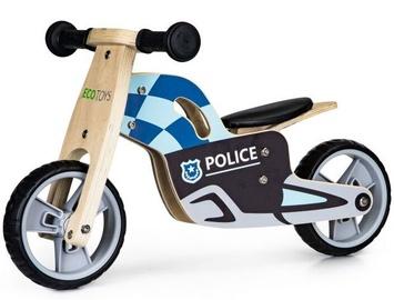 Balansinis dviratis EcoToys Police, mėlynas