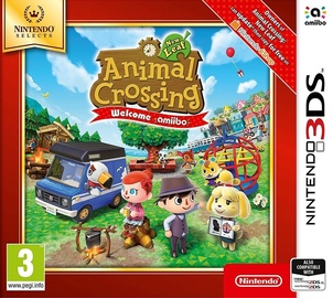Animal Crossing: New Leaf - Welcome Amiibo 3DS