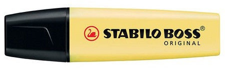 Stabilo Boss Original Highlighter Pastel Yellow