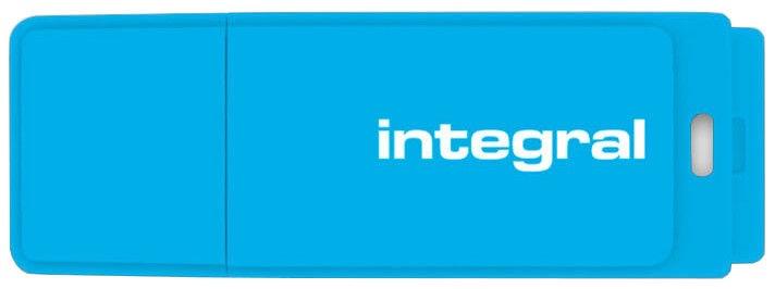 USB atmintinė Integral Neon Blue, USB 2.0, 8 GB