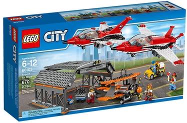 Konstruktorius Lego City Airport Air Show 60103