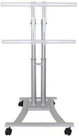 NewStar Flat Screen Floor Stand 27-70'' Silver