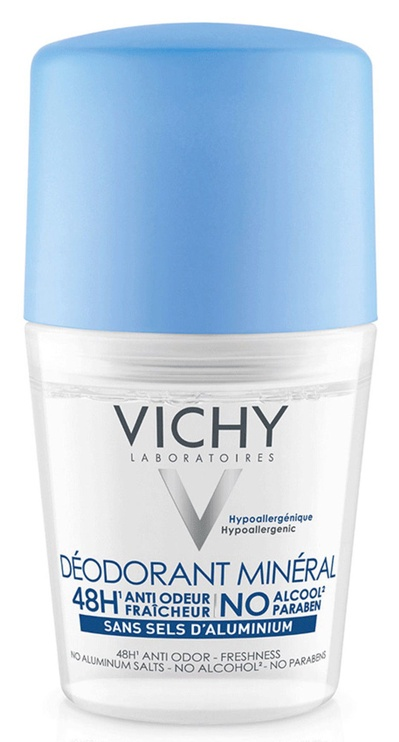 Vichy Mineral Roll On Deodorant Spray 50ml