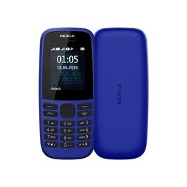 Mobilusis telefonas Nokia 105 2019 DS Blue