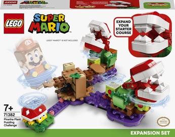 Конструктор LEGO Super Mario Дополнительный набор «Загадочное испытание растения-пираньи» 71382, 267 шт.