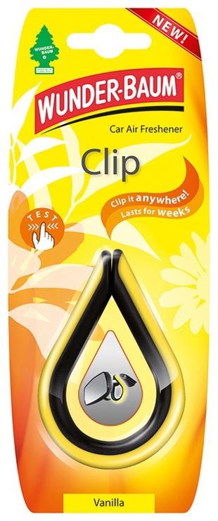 Automobilių oro gaiviklis Wunder-Baum Clip Vanilla
