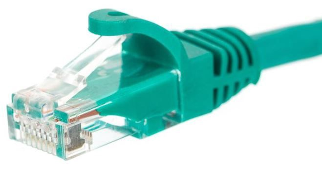 Netrack CAT 5e UTP Patch Cable Green 1m