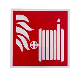"""Lipnus ženklas """"Gaisrinis čiaupas"""", 130 x 130 mm"""