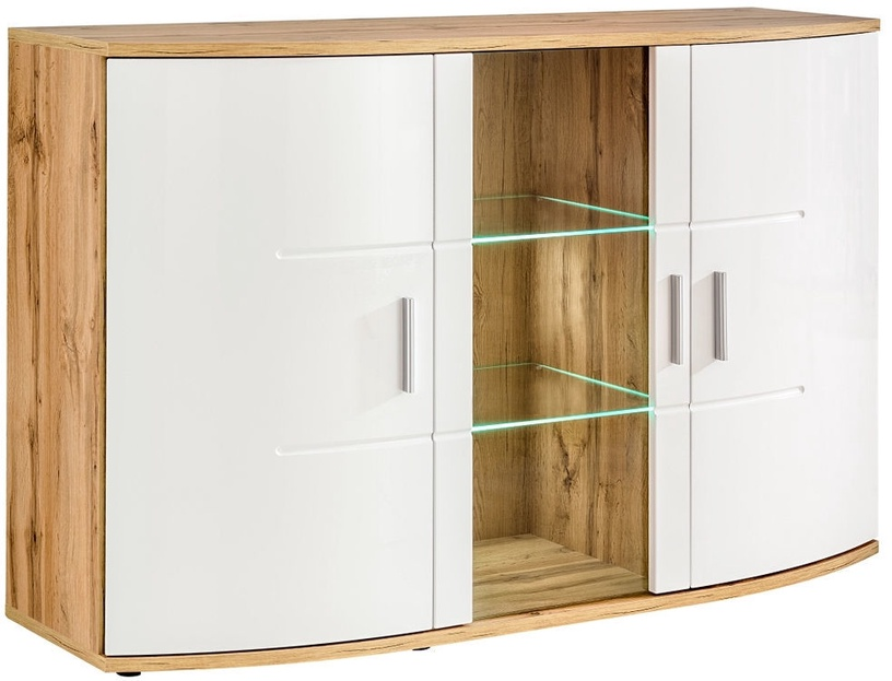 ASM SB Jelly Commode Wood/White