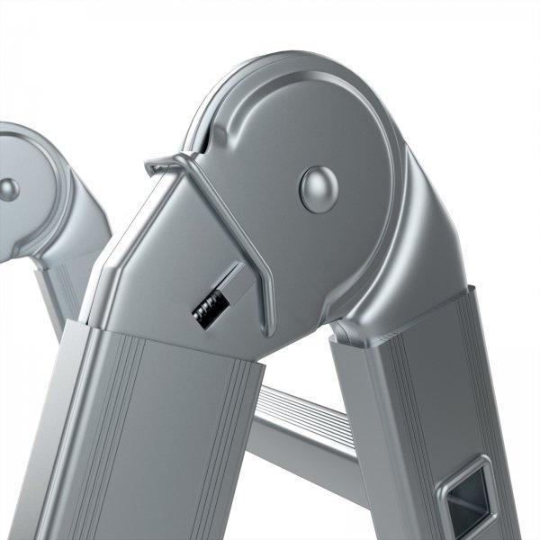 Aliuminės universalios kopėčios Forte Tools 4410, 4*3 pak