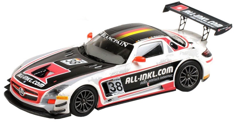 Minichamps Mercedes-Benz SLS AMG Black