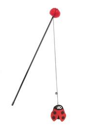 Игрушка для кота Beeztees Ladybug 440526, 40 см