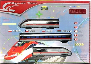 Dromader Bullet Train With 2 Wagons 7112