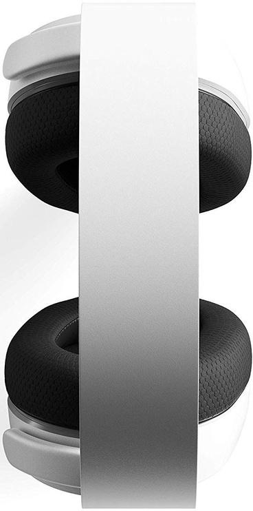 Žaidimų ausinės Steelseries Arctis 3 2019 Edition White