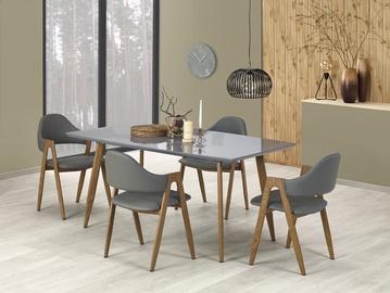 Pusdienu galds Halmar Ruten Grey/Oak, 1600 - 2000x900x760 mm