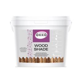Impregnantas Okko Wood Shade, riešuto spalvos, 1 l