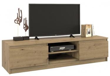 ТВ стол Top E Shop Malwa RTV 140, дубовый, 1400x400x360 мм