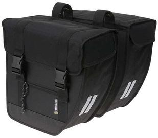 Basil Tour XL Double Bicycle Bag Black 40l