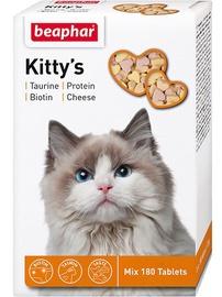 Пищевые добавки, витамины для кошек Beaphar Kittys Mix with Fish Cheese and Taurine 180pcs