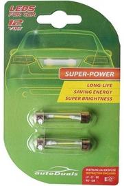 AutoDuals LED SV8.5 41mm Light Bulb 2pcs