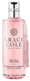 Grace Cole Soothing Bath & Shower Gel 300ml Wild Fig & Pink Cedar