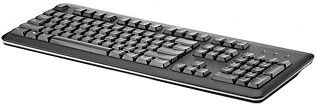 HP 2013 Black design USB Keyboard EN