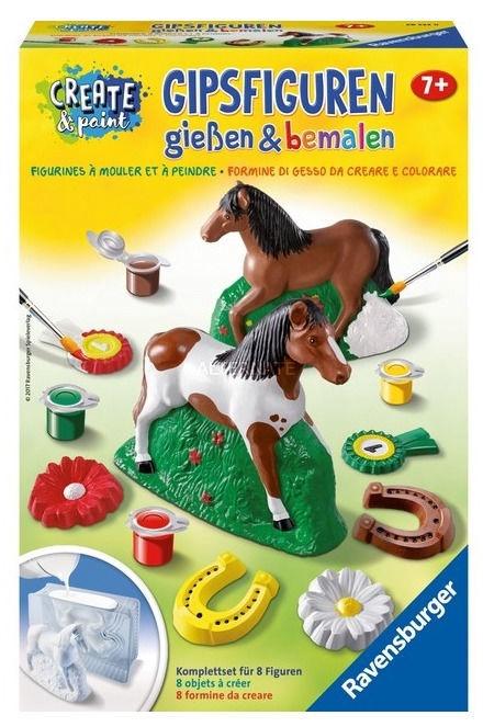 Gipsinių figūrų gaminimo rinkinys Ravensburger Horse 28522
