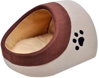 Dzīvnieku gulta - māja VLX Cubby XL, brūna/bēša, 400 mm x 450 mm