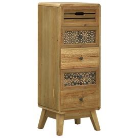 Шкаф VLX Wood, коричневый, 37 см x 30 см x 97.5 см