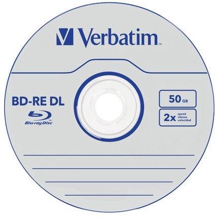 Verbatim BD-RE DL 2X 50GB 5pcs Jewel Case