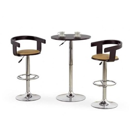 Halmar H-8 Bar Stool Black/Coffee