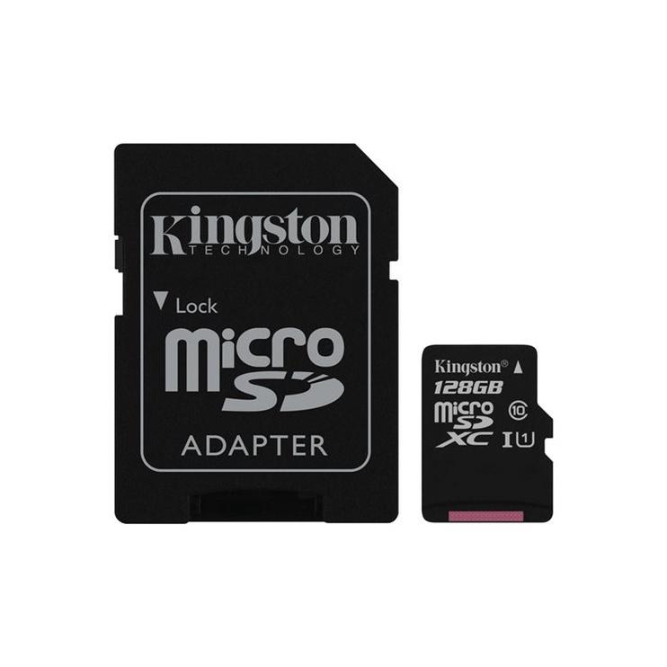 KORTELĖ ATM SD 128GB C10 SDCS/128GB (KINGSTON)