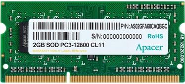 Apacer 2GB 1600MHz DDR3 CL11 AS02GFA60CAQBGC