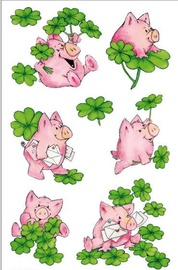 Herlitz Stickers Piggy