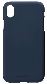 Mercury Soft Surface Matte Back Case For Huawei P30 Midnight Blue