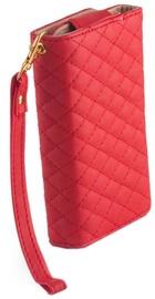 Mocco Wallet Universal Pouch Case XXXL 15x7.5x1cm Red