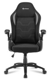 Sharkoon Elbrus 1 Gaming Chair Black Grey