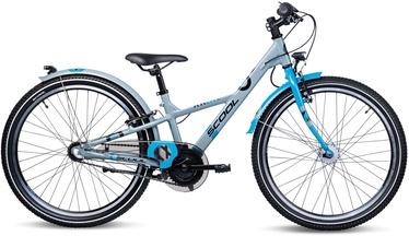 Vaikiškas dviratis Scool XXlite 24'' Grey 20