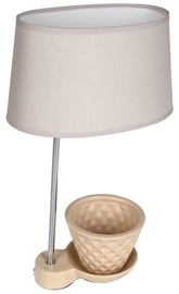 Verners Plant Desk Lamps 60W E27 Beige