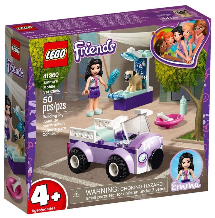 Konstruktorius LEGO® Friends 41360 Emma mobili veterinarinė klinika