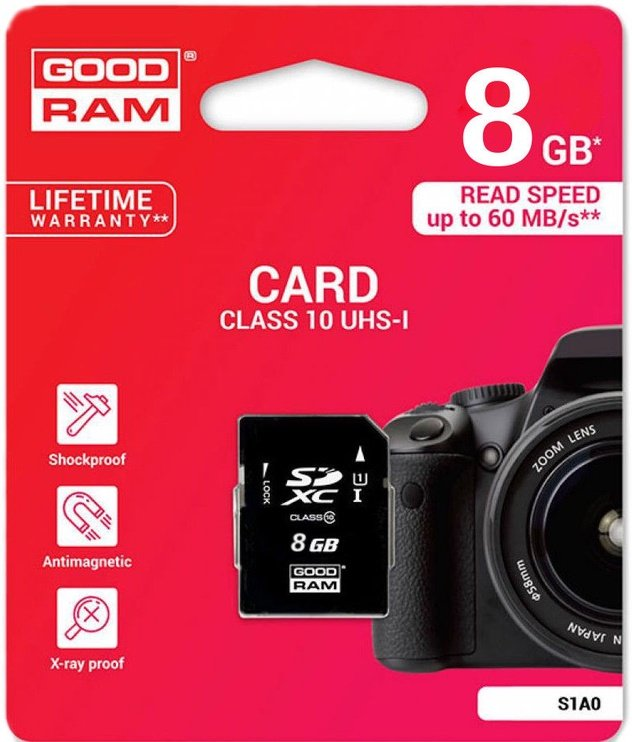 GoodRam 8GB SD UHS-I Class 10