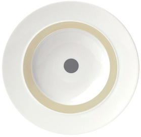 "ViceVersa Soup Plate ""The Dot"" 23.5cm Grey"