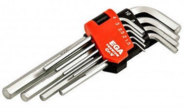 Ega HEX Key Set 1.5-10mm 9pcs