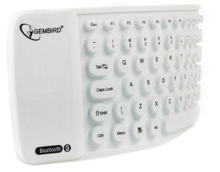 Gembird Bluetooth KB-BTF1-W-US White EN