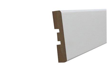 Uksepiirdekomplekt MDF 12x58mm valge