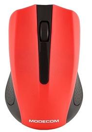 Kompiuterio pelė Modecom MC-WM9 Black/Red, bevielė, optinė