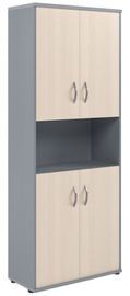 Skyland Imago Office Cabinet CT-1.5 Maple/Metallic