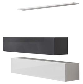 ASM Switch SB II Hanging Cabinet/Shelf Set White/Graphite