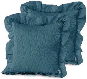 AmeliaHome Tilia Pillowcase Marine 45x45cm 2pcs