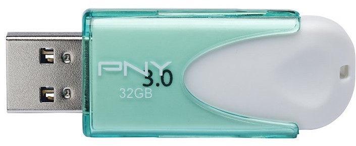 PNY 32GB Attaché 4 USB 3.0 Turqoise